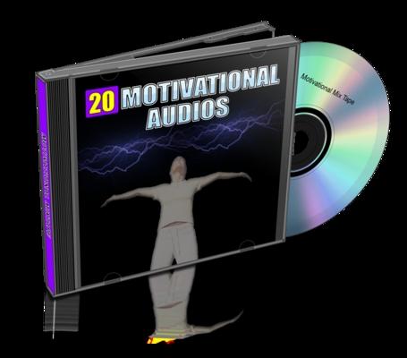 Product picture 20 Motivational_Audios_MRR